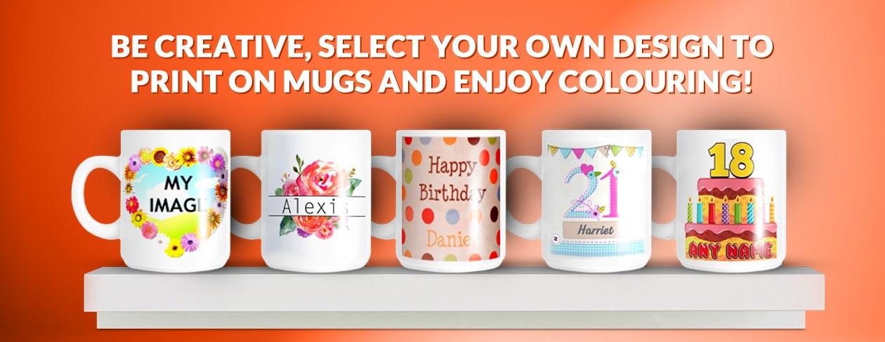 Mug printing in Jaipur-Thecrosswild
